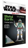 Metal Earth Premium Series Boba Fett Model Kit | Buy now at The G33Kery - UK Stock - Fast Delivery